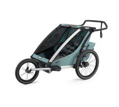 Thule Chariot Cross 2 Multisport Trailer & Stroller - Majolica Blue