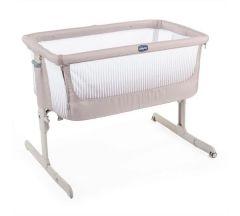 Chicco Next2Me Air Crib - Dark Beige