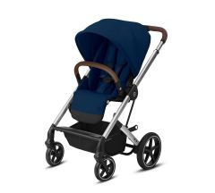 Cybex Balios S Lux Pushchair – Navy Blue & Silver Frame