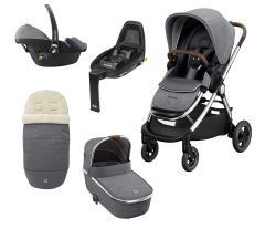 Maxi Cosi Adorra Luxe Package with Free FamilyFix2 Base