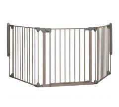 Safety 1st Modular 3 Multi-panel Gate - Light Grey