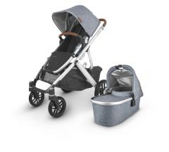 Uppababy Vista V2 Pushchair & Carrycot - Gregory