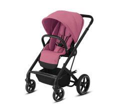 Cybex Balios S Lux Pushchair – Magnolia Pink & Black Frame