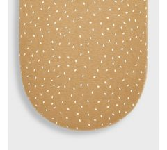 Little Green Sheep Organic Moses Fitted Sheet - Honey Rice