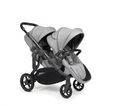 iCandy Orange Double Pushchair - Light Slate Marl