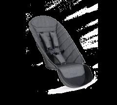 iCandy Peach 2nd Seat Fabric Dark Grey Twill