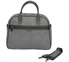 Icandy Peach  Dark Grey Check Changing Bag