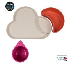 Bamboo Dinner Set Cloud - Pink/Orange