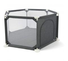 Babylo Safe & Secure Playpen - Dark Grey