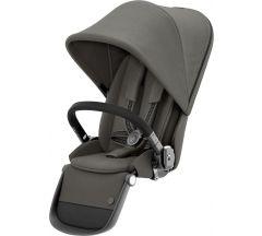 Cybex Gazelle Sibling Seat Soho Grey on Taupe Frame
