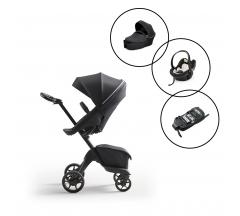 Stokke Xplory X Travel System with Stokke Izi Go Modular X1 Car Seat & Base