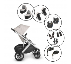 Uppababy Vista V2/Maxi Cosi - 13 Piece Bundle for Twins