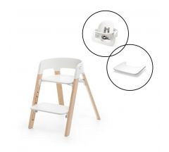 Stokke Steps Chair & Babyset with Free Tray!