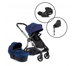 Icandy Orange Travel System with Cybex Cloud Z Car Seat & Base