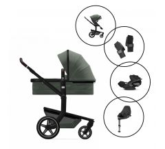 Joolz Day+ Travel System with Cybex Cloud Z Car Seat & Base - Limited Edition Magnificent Green