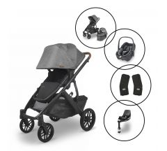 Uppababy Vista V2 Travel System with Maxi Cosi Pebble 360 & Base