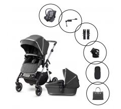 Silver Cross Pioneer Travel System with Dream Car Seat & Base