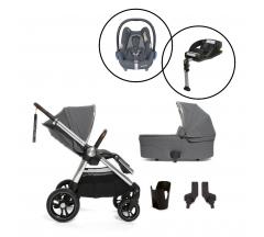 Mamas & Papas Ocarro Travel System with Maxi Cosi Cabriofix & Base - Grey Mist