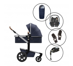Joolz Day3 Travel System with Maxi Cosi Cabriofix & Base & Free Footmuff