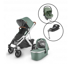 Uppababy Vista V2 Travel System With Mesa Car Seat & Base