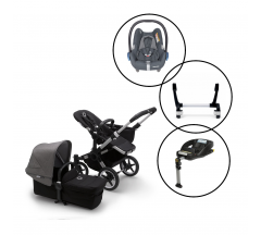 Bugaboo Donkey3 Mono Travel System with Maxi Cosi Cabriofix & Base