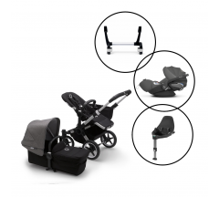 Bugaboo Donkey3 Mono Travel System with Cybex Cloud Z & Base