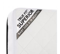 Silver Cross Truefit Superior Cotbed Mattress