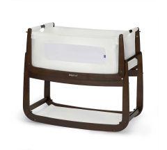 Snuzood3 Bedside Crib Espresso