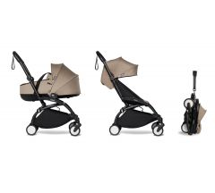 BABYZEN YOYO2 Complete with Bassinet - Taupe