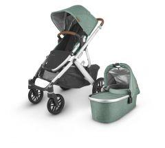 Uppababy Vista V2 Pushchair & Carrycot - Emmett