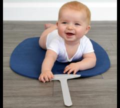 Shnuggle Baby Yoga Play Mat - Navy