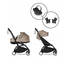 BABYZEN YOYO² All you need bundle with Bassinet & BABYZEN Car Seat with 2 x Free Raincovers