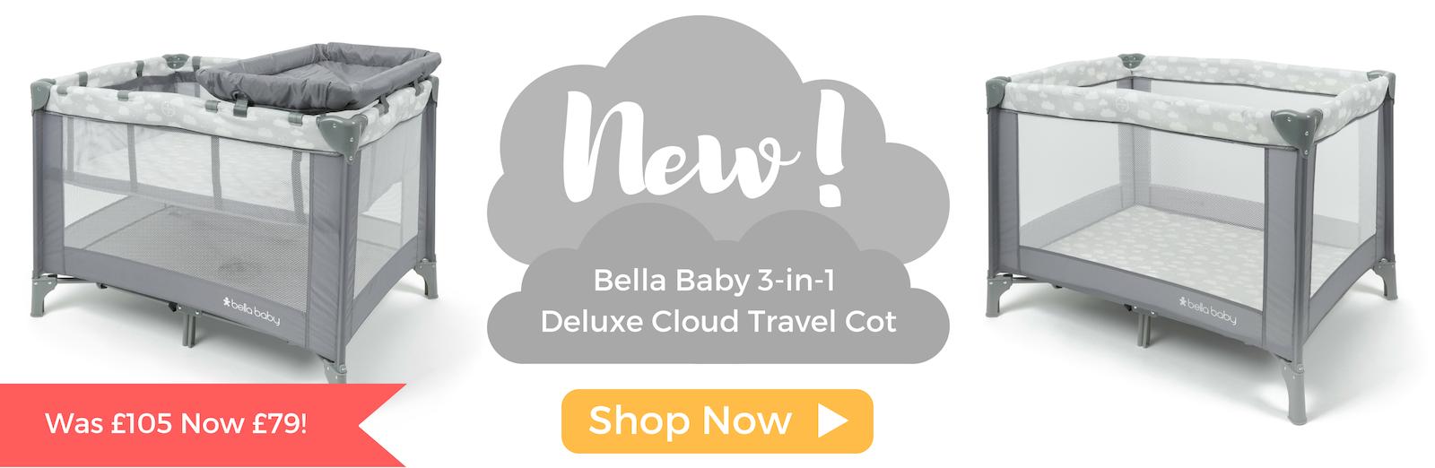 Bella Baby Travel Cot